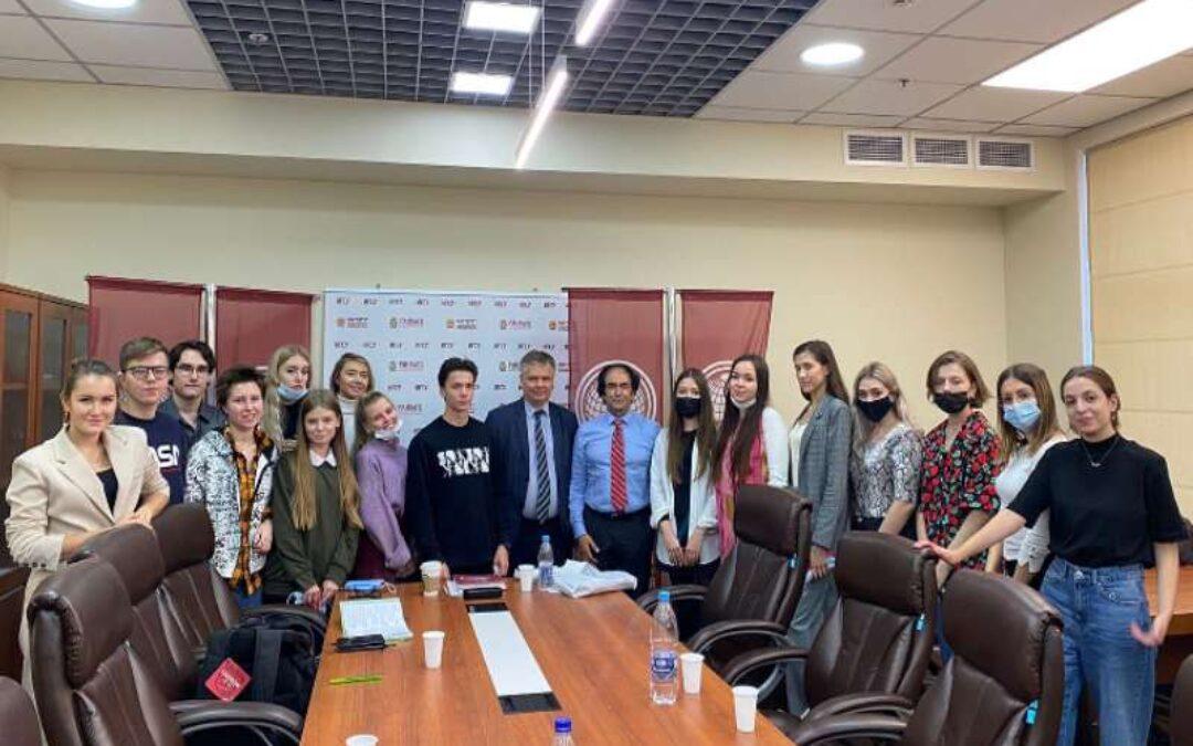 An open lecture in English by Professor of Florida Atlantic University (USA) – Ali Farazmand